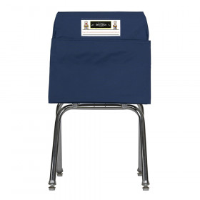 Seat Sack, Large, 17 inch, Chair Pocket, Blue
