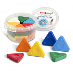 Primo Triangle Crayons, Pack of 30