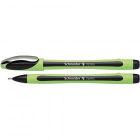 Schneider Black Xpress Fineliner Fiber Tip Pen