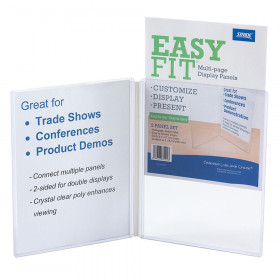 EasyFit Clear Display Panels, 2 panels