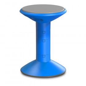 Wiggle Stool, Blue