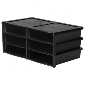 Quick Stack Organizer, Black
