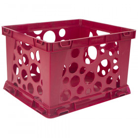 Mini Crate, School Red