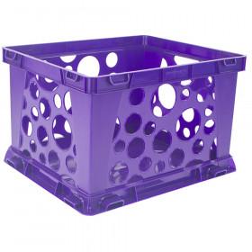 Mini Crate, School Purple