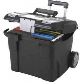 Portable File Box on Wheels