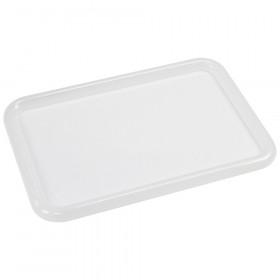 Clear Lid Bin Cover, Fits Storex Small Cubby Bin, 5-Pack