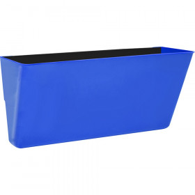 Letter-Size Magnetic Wall Pocket, Blue