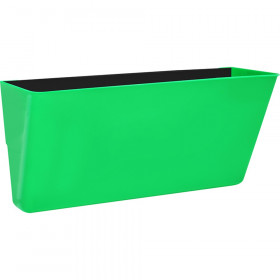 Letter-Size Magnetic Wall Pocket, Green