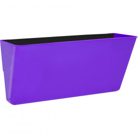 Letter-Size Magnetic Wall Pocket, Purple