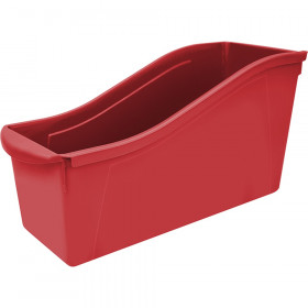 Large Book Bin, Red