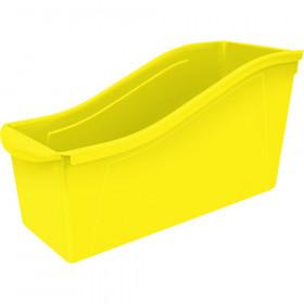 Large Book Bin Yellow