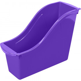 Small Book Bin, Purple