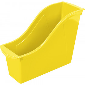 Small Book Bin Yellow