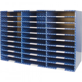 Laminated Corrugated Mailroom Sorter - 30 Compartments