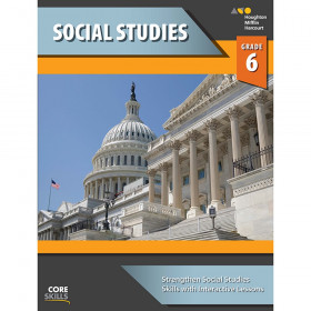 Steck-Vaughn Core Skills Social Studies Workbook Grade 6
