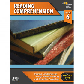 Steck-Vaughn Core Skills Reading Comprehension Workbook Grade 6