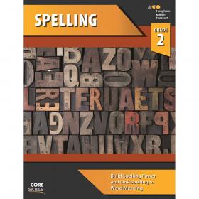 Steck-Vaughn Core Skills Spelling Workbook Grade 2