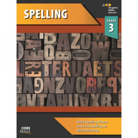 Steck-Vaughn Core Skills Spelling Workbook Grade 3