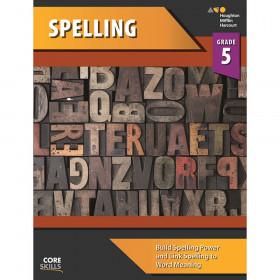 Steck-Vaughn Core Skills Spelling Workbook Grade 5