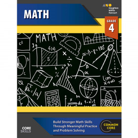 Steck-Vaughn Core Skills Mathematics Workbook Grade 4