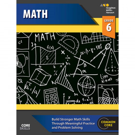 Steck-Vaughn Core Skills Mathematics Workbook Grade 6