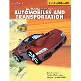 The Mathematics of Autos & Transportation Book