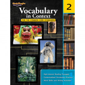 Vocabulary in Context for the Common Core Standards Reproducible, Grade 2