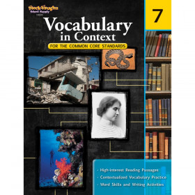 Vocabulary in Context for the Common Core Standards Reproducible, Grade 7