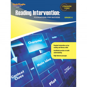 Reading Intervention: Foundations for Success Reproducible, Grade 6