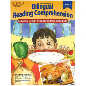 Steck-Vaughn Bilingual Reading Comprehension Reproducible Grade 4