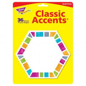 Color Harmony Hexa-stripes Classic Accents, 36 ct