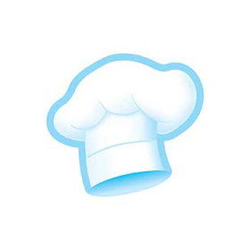 Chefs Hats Bake Shop Mini Accents