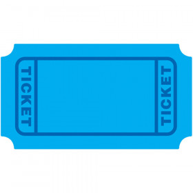 Blue Tickets Mini Accents