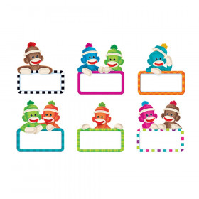 Sock Monkeys Signs Classic Accents Variety Pack, 36 ct