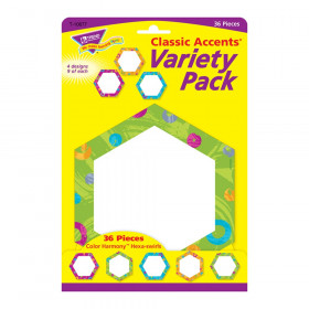 Color Harmony Hexa-swirls Classic Accents Var. Pack, 36 ct