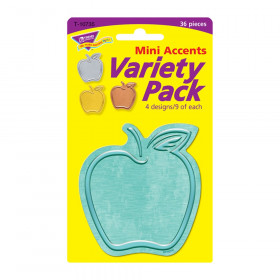I  Metal Apples Mini Accents Variety Pack, 36 ct