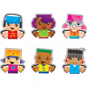 BlockStars!® Clips Mini Accents Variety Pack