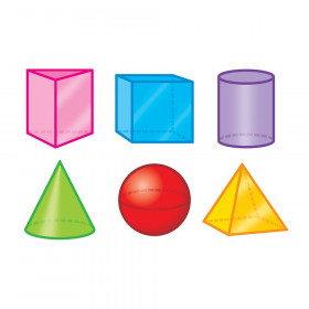 3-D Shapes Mini Accents Variety Pack, 36 ct