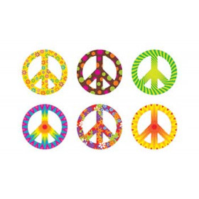 Peace Signs Patterns Mini Accents Variety Pack