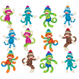 Sock Monkeys Patterns Mini Accents Variety Pack