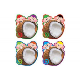 Monkey Mischief Coconut Chums Accents Variety Pack