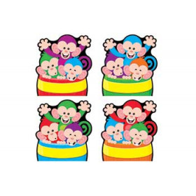 Monkey Mischief Barrels Of Fun Accents Variety Pack