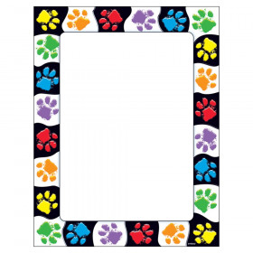 Paw Prints Terrific Papers, 50 ct