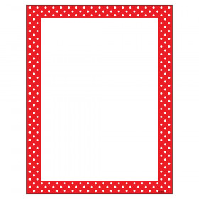 Polka Dots Red Terrific Papers®