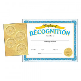 Recognition Certificates w/ Congratulations Seals Combo Pack