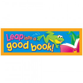 Leap into a good book! Bookmarks