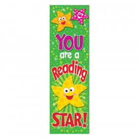 You are a Reading Star Bookmarks, 36 ct