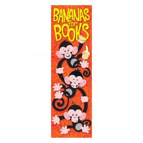 Bananas for Books Monkey Mischief Bookmarks, 36 ct