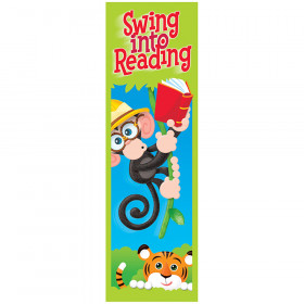Swing into Reading Monkey Mischief® Bookmarks