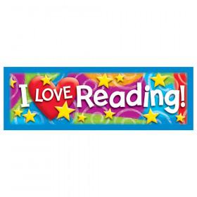 I LOVE Reading Stars 'n Swirls Bookmarks, 36 ct